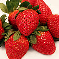 Juicy Strawberries by Barbara Griffin