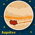 Jupiter Print by Christy Beckwith