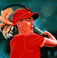 Justine Henin  by Paul Meijering