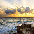 Kaena Point State Park Sunset 2 - Oahu Hawaii by Brian Harig