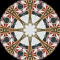 Kaleidoscope Wheel by Cathy Lindsey