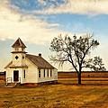 Kansas Church by Marty Koch