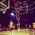 Kareem Jump Shot by Retro Images Archive