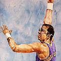 Kareem Abdul Jabbar by Michael  Pattison