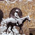 Keeneland In Winter by Sid Webb