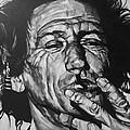 Keith Richards by Steve Hunter