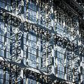 Kings Cross St Pancras Windows by Joan Carroll