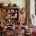 Kitchen - For The Master Chef  by Mike Savad