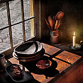 Kitchen - On A Table II  by Mike Savad