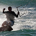 Kite Surfer 01 by Rick Piper Photography