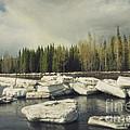 Klondike River Ice Break by Priska Wettstein