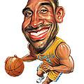 Kobe Bryant by Art