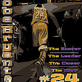 Kobe Bryant Game Over by Israel Torres