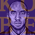 Kobe Bryant Lakers' Purple by Rabab Ali