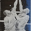 Kobe vs Lebron Print by Valdengrave Okumu