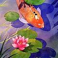 Koi Pond by Robert Hooper