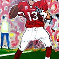 Kurt Warner-in The Zone by Bill Manson