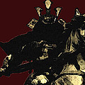 Kusunoki Masahige In Battle by Jeff DOttavio