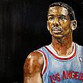 La Clippers' Chris Paul  by Michael  Pattison