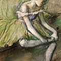 La Jupe Verte by Edgar Degas