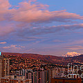 La Paz Twilight by James Brunker