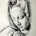 La Pieta Madonna by Heather Calderon