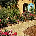 La Posada Gardens In Winslow Arizona by Priscilla Burgers