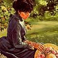Lady Katherine by Michael Swanson
