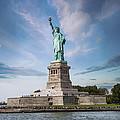 Lady Liberty Print by Juli Scalzi