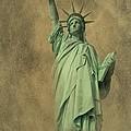 Lady Liberty New York Harbor by David Dehner
