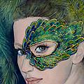 Lady Peacock by Dorina  Costras