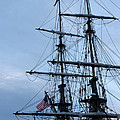 Lady Washington's Masts by Heidi Smith