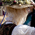 Lady with Floral Hat