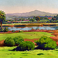 Lago Lindo Rancho Santa Fe by Mary Helmreich