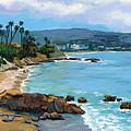 Laguna Beach Winter by Alice Leggett