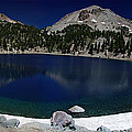 Lake Helen At Mt Lassen Triptych by Peter Piatt