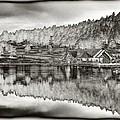 Lake House Reflection by Ron White
