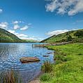 Lake In Wales by Adrian Evans