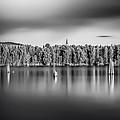 Lake Oyeren by Erik Brede