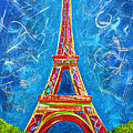 L'amour A Paris by Teshia Art