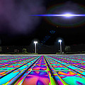 Landing Pad 5 A M by Wendy J St Christopher