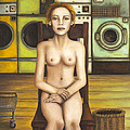 Laundry Day 5 by Leah Saulnier The Painting Maniac
