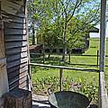 Laura Plantation Slaves porch Print by Joseph Semary