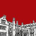 Laurel Hall In Red -portrait- by Adendorff Design