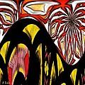 Lava Flow by Alec Drake