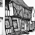 Lavenham Timber by Shirley Miller