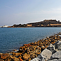 Le Fort Carre - Antibes - France by Christine Till