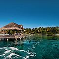 Leaving Kuramathi Resort. Maldives by Jenny Rainbow