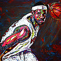 Lebron James 2 by Maria Arango
