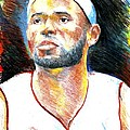 Lebron James  by Jon Baldwin  Art